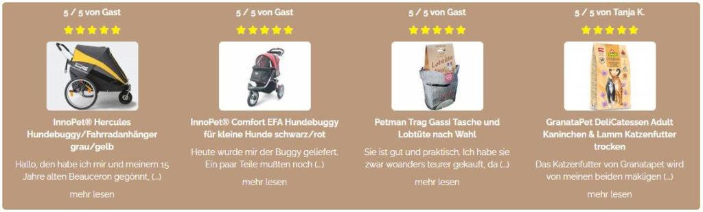 Produktbewertungen von petsworld-and-more.de